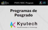 Convocatoria - Becas Kyushu Technology Institute de Japón.